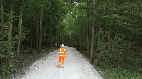 Carbon Reduction for Compound and Haul Road